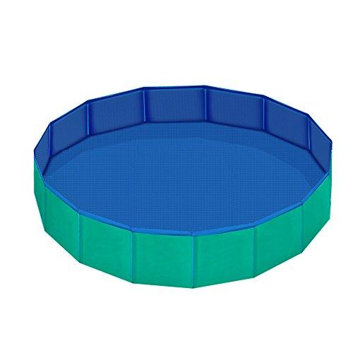 Pidsen piscina de animales, piscina plegable, portátil, para usar como bañera o...