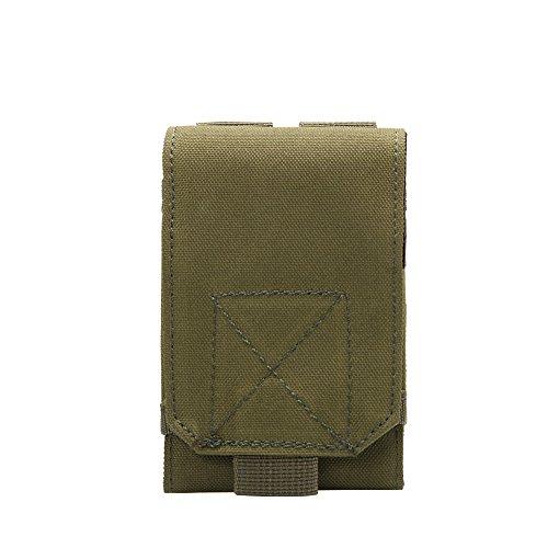 Shiningup Unterschiedliche Größe MOLLE Smartphone Holster Universal Army Handy Gürteltasche Holster Abdeckung Fall für Smartphone (Lg G 2 Abdeckungen)