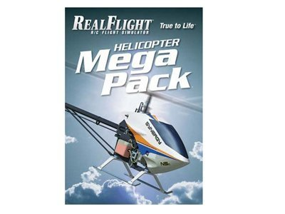Great Planes RealFlight 6 - Heli Mega Pack GPMZ4162 by RealFlight