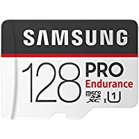 Samsung 128 GB PRO Endurance MicroSDHC Memory Card with SD Adapter