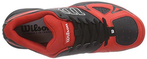 Wilson RUSH OPEN 2.0, Chaussures de Tennis homme Noir