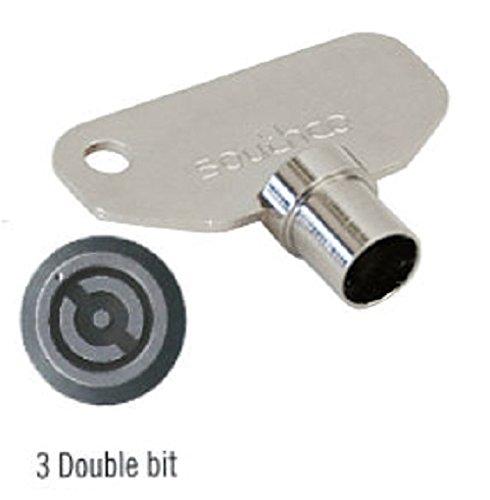 SOUTHCO E3–2-1Schlüssel, 3mm Double Bit (Pack von 3)
