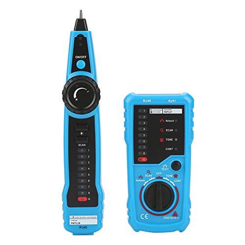 Wire Tracker, BSIDE FWT11 Tester Rete Palmare RJ11 RJ45 Telefono Ethernet LAN Network Cable Detector Tester per Collazione di Cavi Tester di Linea Telefonica Continuità Controllo