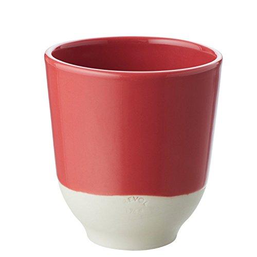 Revol RV648971 Tasse à Thé Color Lab, Porcelaine, Rouge, 8 x 8 x 8,8 cm