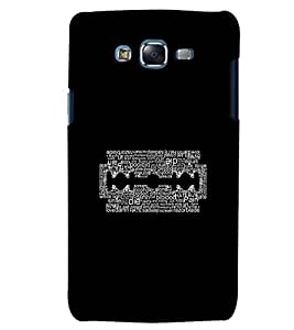 Citydreamz Die/Blood/Pain/hate/Razor Blade/Quotes Hard Polycarbonate Designer Back Case Cover For Samsung Galaxy Core Prime G360H/G361H
