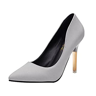 Clearance Sale!Women's Heels OverDose Fashion Thin Heels Shoes Shallow Pointed Toe High Heels Shoes