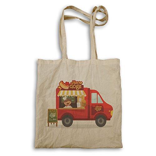 Hot Dogs Food Truck Van Sac à main v560r