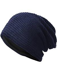 Kobay Cappello Caldo Lavorato a Maglia Lavorato a Maglia con Berretto Caldo Invernale  da Donna 78027290230a