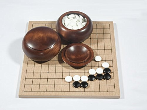 Go-Spiel: 13x13/9x9-Set, Buchenfurnier