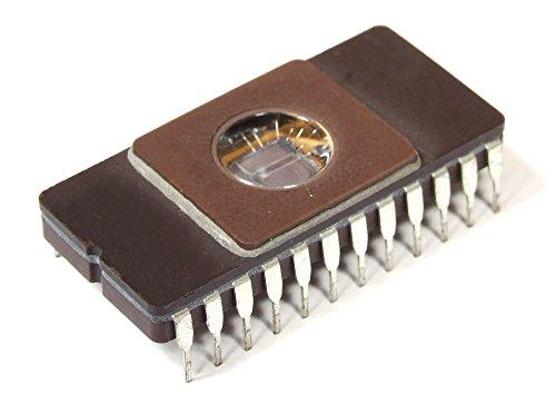 Texas Instruments 4Kx8Bit 32Kbit 2732 UV-Eprom Memory IC DIP-24 32-S139 TI8213 (Generalüberholt) - Uv Eprom