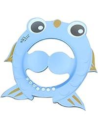 Webla Champú segura Ducha Baños Bañera Proteger Suave Gorra Sombrero por Bebé Niños niños sin Irritarse los Ojos