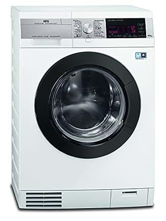 AEG LAVAMAT ÖKOKOMBI PLUS L9WE95ÖKO Waschtrockner / Waschmaschine 9kg mit Trockner 6kg / sparsamer Wäschetrockner mit ProSense-System / Wolletrockenprogramm / EEK A (814 kWh/Jahr) / weiß