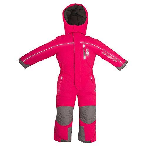 Outburst Kinder Ski Overall Pink Gr. 122 wasserdicht atmungsaktiv - Schneeanzug Skianzug