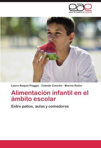 Alimentacion Infantil En El Ambito Escolar por Laura Raquel Piaggio