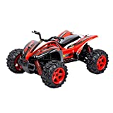 happy event Fernbedienung RC Cars 1/24 2.4G 40km / h Unabhängige Federung Off Road Crawler (Rot)