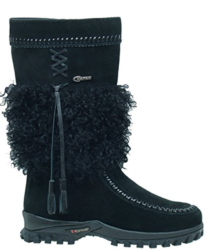 Kefas - Sami New 2729 - Stivali invernali scamosciati donna Nero