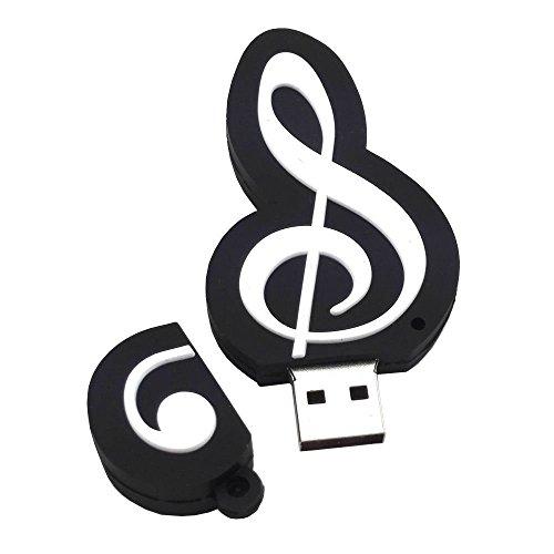 Shooo 16gb cartoon music note chiavetta usb memory stick