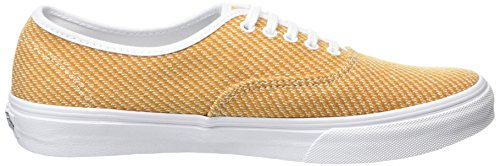 Vans Authentic Slim, Baskets Basses Mixte Adulte Jaune (Jersey gold/true white)