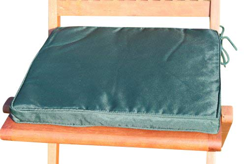Coussin chaise vert