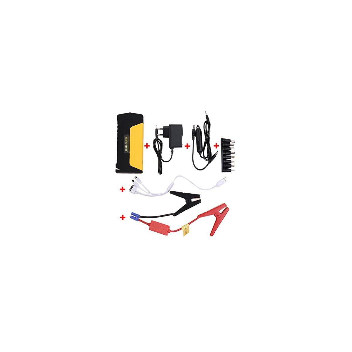 41QHRAC zwL. SS1200  - PRUGNA 10000mAh Emergencia del Arrancador de Coche con la Corriente Máxima 600A, Antorcha Incorporada del LED. Multi-Functional Movil Portátil Power Bank Vehículos Fuente de Energía de Emergencia Cargador de Batería de Automóvil.[Tienda de fábrica]
