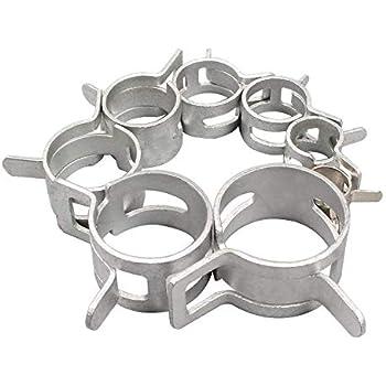 3 Pcs Flexible Colliers de serrage Outil de plastique de frein carburant Ligne deau Colliers de serrage Pinch-off Pince kit