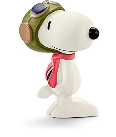 Schleich 22054 - Spielzeugfigur - Flying Ace (Peanuts Snoopy Charlie Brown)