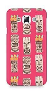 Amez designer printed 3d premium high quality back case cover for Samsung Galaxy E7 (Tiki)