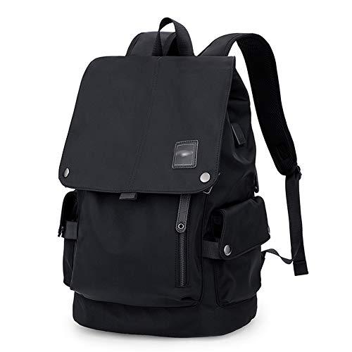 Herrenrucksack Business-Tasche Freizeittasche Schultasche Laptoptasche Reisetasche Militärpaket Rucksäcke- Große Kapazität einfache Studentenmodetrend ZHML ( Farbe : Drawstring , größe : 46*30*18cm )