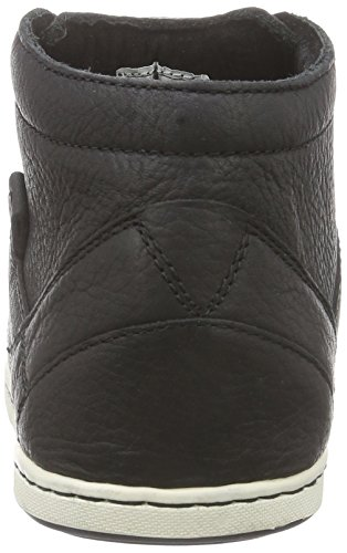 Hub Kingston Merlins, Derbies à lacets homme Noir - Schwarz (Black/White 001)