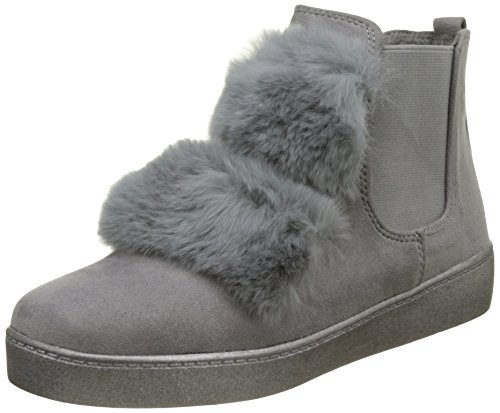 amp; Stiefel Ideal Ideal Damen Damen Grau amp; Shoes Stiefeletten Stiefel Shoes r6wqE6