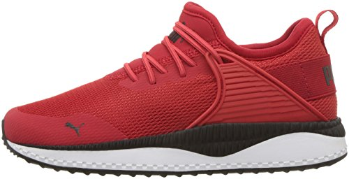 PUMA Unisex Pacer Next Cage AC Kids Sneaker  high Risk red Black  10 5 M US Little