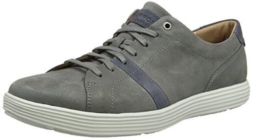 Rockport Herren Thurston Lace Up Laufschuhe, Grau (Grey/Blue), 44 EU Rockport Laufschuhe