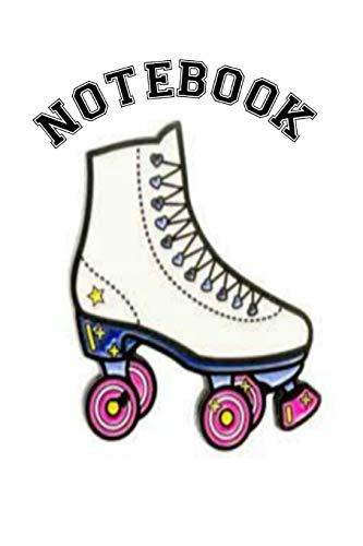 Notebook: Roller Skate Derby Homework Book Composition and Journal Diary (Vintage Roller Derby Skates)