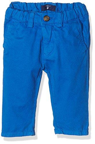 Gant Baby Chino, Pantaloni Bimba, Blu (Nautical Blue), 9 Mesi