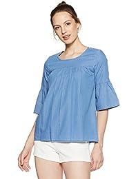 AKA CHIC Women's Body Blouse Shirt
