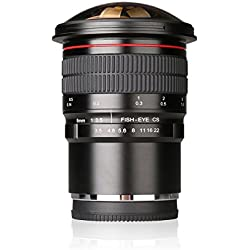 Meike MK 8 mm f3.5 Ultra HD Objectif Fisheye Objectif pour Panasonic Lumix & Olypums M4/3 mount Caméras, fixed-non-zoom