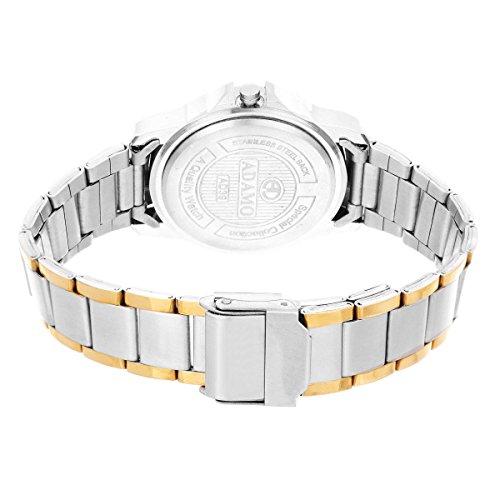 ADAMO Shine Analogue Formal White Dial Women Wrist Watch - Ad39Bm01
