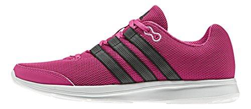 adidas Lite Runner W, Chaussures de Running Compétition Femme Rose / noir / blanc (rose équipement / noir essentiel / blanc Footwear)