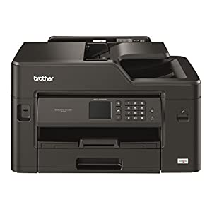 Brother mfc-j5330dw- Inkjet Multifunction Printer, WITH WI-FI, 128 MB Memory Spanish Version Black