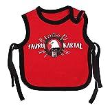 Besiktas Istanbul Baby Lätzchen - zum Überziehen T-Shirt Stil Jungen Mädchen weiches yavru Kartal (1)