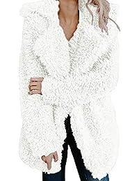 Malloom Abrigo para Mujer, Prendas de Vestir Las Mujeres de otoño Invierno Elegante cálido Abrigo