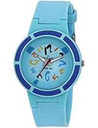 Omax Analog Skyblue Dial Children's Watch - KD121