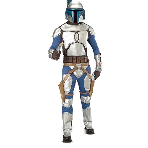 Imagen de star wars tm jango fett tm deluxe adult costume  disfraz, talla 48 50 alternativa