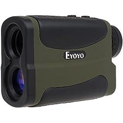 Uphig 6x Multifuncional Laser Telémetro 640 metros para caza y medición de distancias en Golf