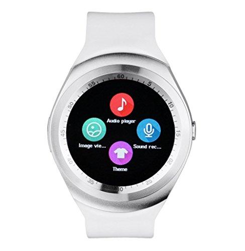 kkcite 1.22inch y1 bluetooth smartwatch, offen smartwatch telefon oh schlafen überwachen zu fuß auf ios - android - smartphones (Seite Plus-iphone 6-sim-karte)