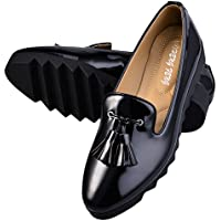 Hengfeng donne dicono scarpe antisdrucciolevoli nappa piatta in pelle di