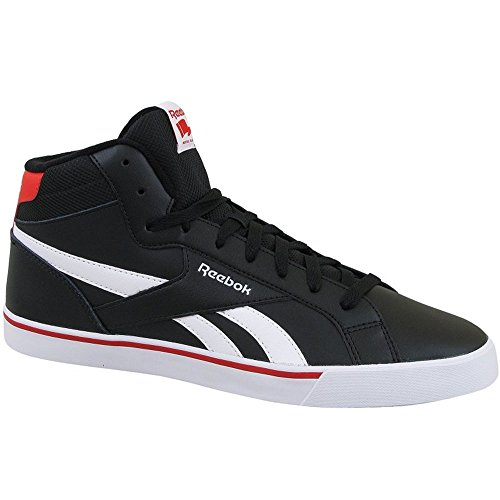 Reebok Royal Complete 2ml, Scarpe sportive Uomo Nero (Negro (Black / White / Riot Red))