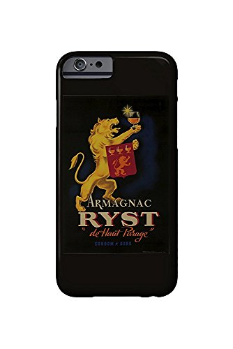 Armagnac Ryst Vintage Poster France c. 1927 (iPhone 6 Cell Phone Case, Slim Barely There)