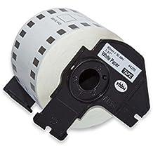 vhbw Rolle Etiketten Aufkleber premium 62mm für Brother P-Touch QL-500BW, QL-550, QL-560, QL-560VP, QL-570, QL-580, QL-580N, QL-650 wie DK-44205.
