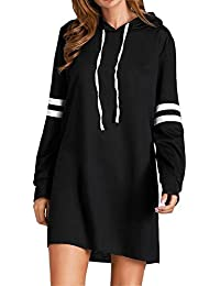 Flying Rabbit Damen Hoodie Damen Langarm Sweatshirt Damen Langarm Hoodies Casual Herbst Kleid